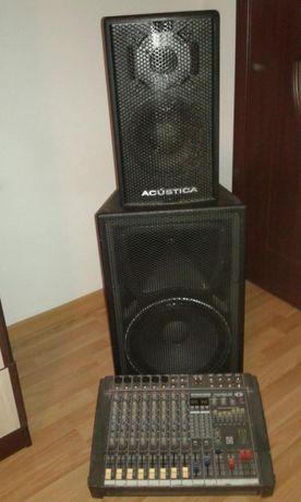 Vand sau inchiriez sistem audio profesiona pentru petrecerii