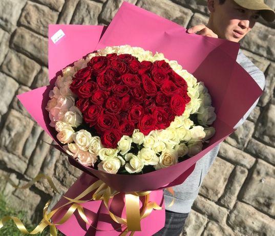 Розы Доставка Цветов Астана