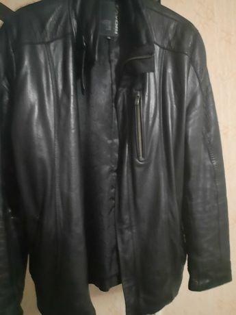 Куртка демисезонная, натуральная кожа