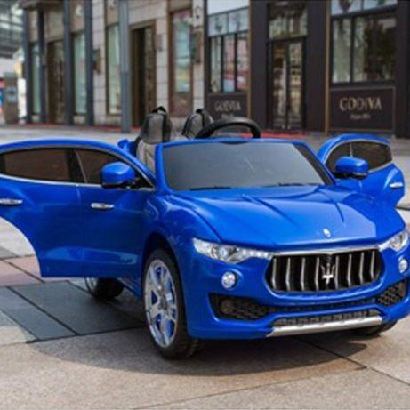 Masinuta electrica pentru copii Maserati Levante 2x35W 12V #Albastru