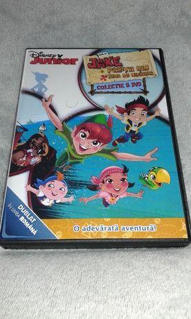 Jake si Piratii din Tara de Nicaieri-5 DVD desene animate