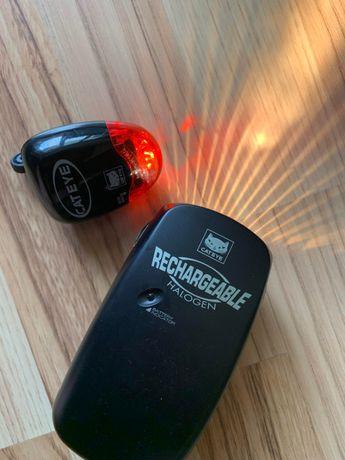 Lanterna Stop Bicicleta CATEYE Cat eye Halogen HL-1600 G TL-LD250