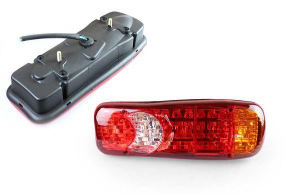 Универсален LED Диоден стоп - 5 светлини 12V/24V 45LED