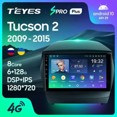 Штатная магнитола TEYES CC3 / sPro+ для Hyundai Tucson