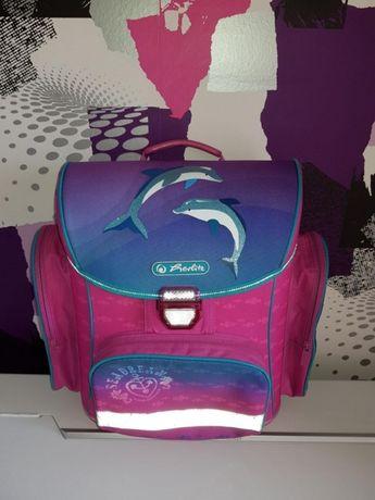 Ученическа раница за принцеси Herlitz Dolphin Love