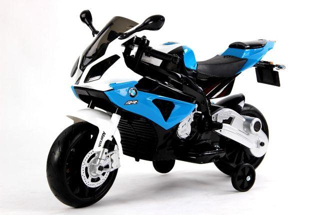 Motocicleta Electrica BMW S 1000 RR, 2 Motoare 12V, viteza 5 - 8 km/h