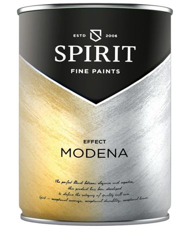 Пясъчна декоративна мазилка SPIRIT MODENA - Silver - 1 л