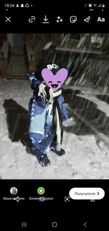 Продам детский зимний комбенизон Reima
