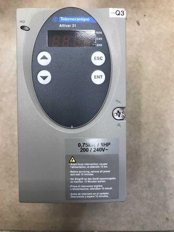 Честотен регулатор(инвертор) Schneider Telemecanique 0,75кw/220V