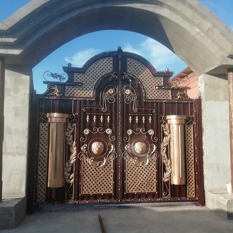 Ворота|Решетки|Навес