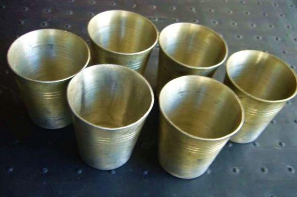 Чашки, сервиз, за алкохол - 6 бр