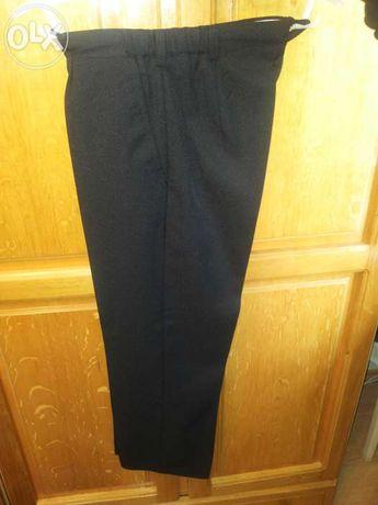 Pantaloni de stofa bleumarin