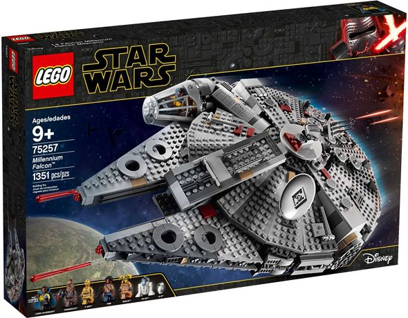 Lego Star Wars 75257, original, Millennium Falcon (nou, sigilat)