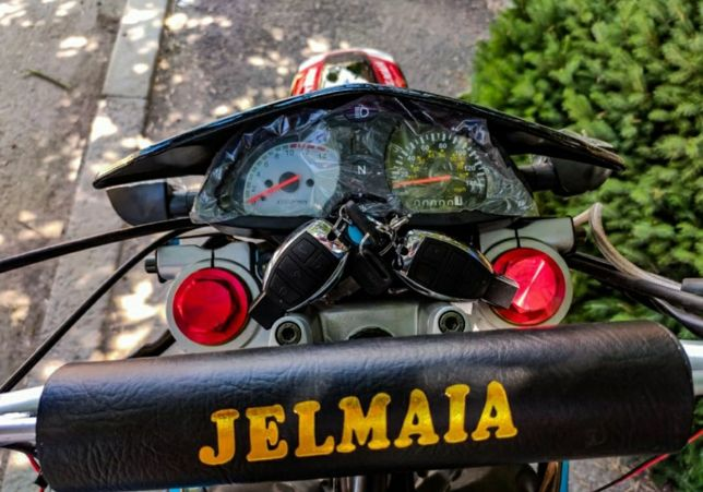 Мотоциклдер jelmaia