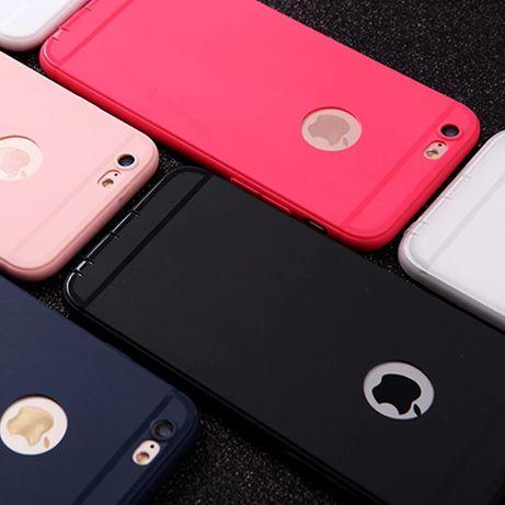 Матов гумен Кейс за Iphone 5 / 5S / SE / 6 6S / 7 / 7+ / 8 8 plus X 10