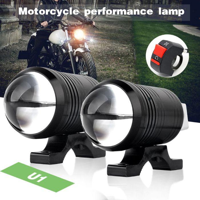 Proiectoare moto ATV Led + Lupa