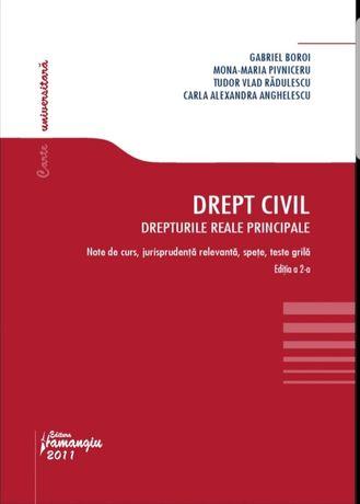 Curs drept civil - Drepturi reale principale Gabriel Boroi format PDF