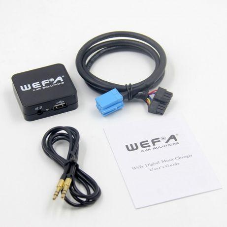 Дигитален CD чейджър Wefa автомобили Peugeot / Citroen RD3 (97 - 2004)