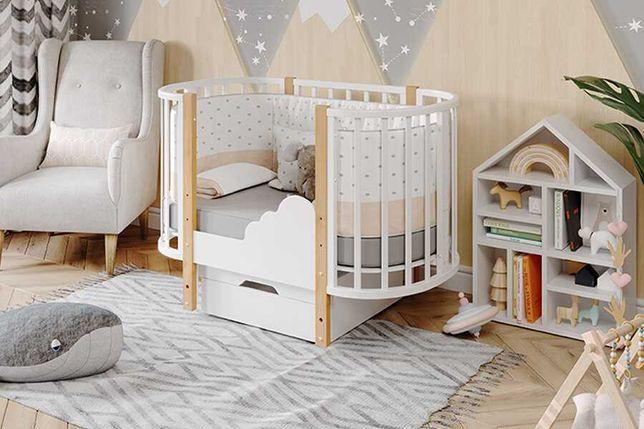 Манеж кроватка для новорожденных Элен + бесплатной доставкой на дом