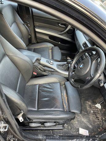Interior piele recaro bmw e90 scaune banchete piele bmw e90
