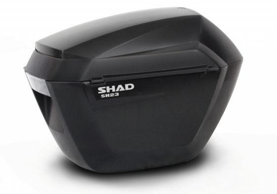 Cutii laterale SHAD SH23 Negru - moto sisteme de bagaje side case