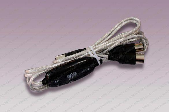 ANIMABG MIDI IN-OUT към USB преобразувател