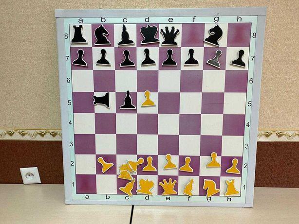 Шахматная магнитная доска