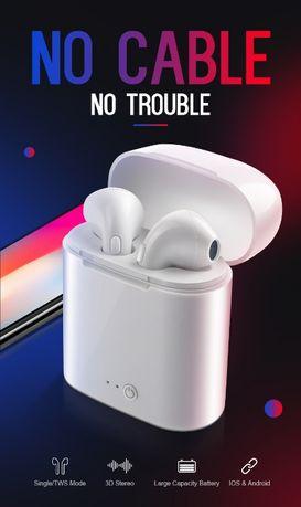 Casti audio wirwless, cu bluetooth I7S tip in-ear pt.iphone,huawei,xia