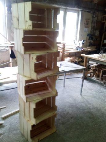 Стилаж, конструкция от шайги