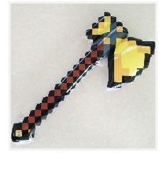 Jucarie gonflabila Minecraft pentru copii , topor, sabie