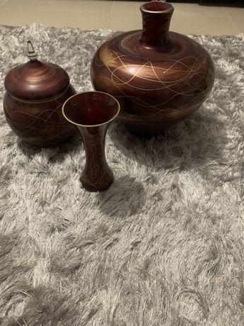 Set 3 vaze decorative pictate manual