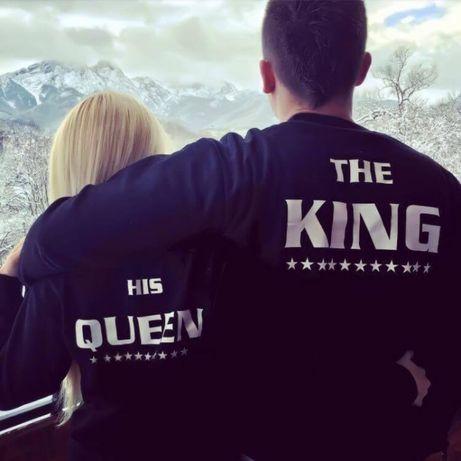 За ВЛЮБЕНИ! Royal King и Queen LOVE тениски и блузи