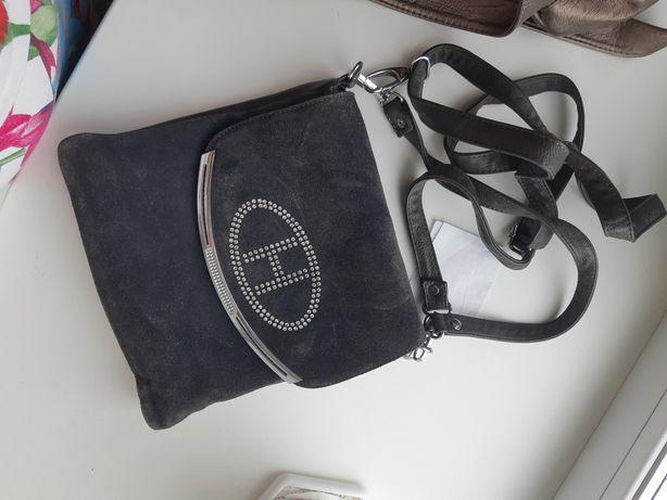 Продам сумочку натуральная замша