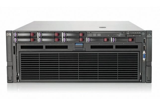 СЕРВЕР HP 40ядер /4x e7-4870 / 256GB DDR3 / 960GB SSD/ 4x 1200Watt
