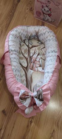 Babynest fetiță model 3D deosebit