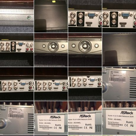 DVR și camere pt sistem supraveghere