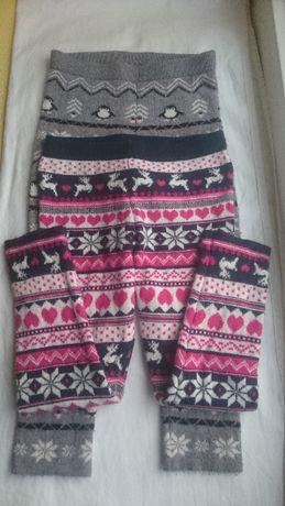 Set 2 Pantaloni grosi iegari 3-4 ani