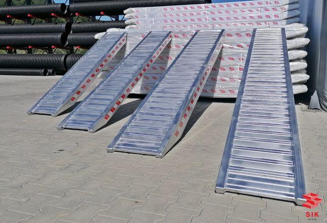 Rampe aluminiu utilaje de constructii, podea plina PRET BOMBA