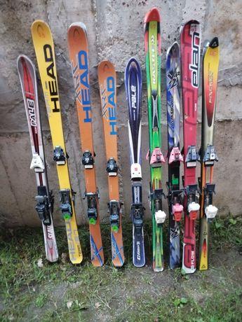 Продам няколко комплекта ски
