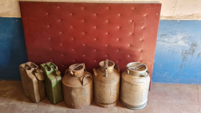 Алюминиевые бидоны 40 литров и канистры 20 литров