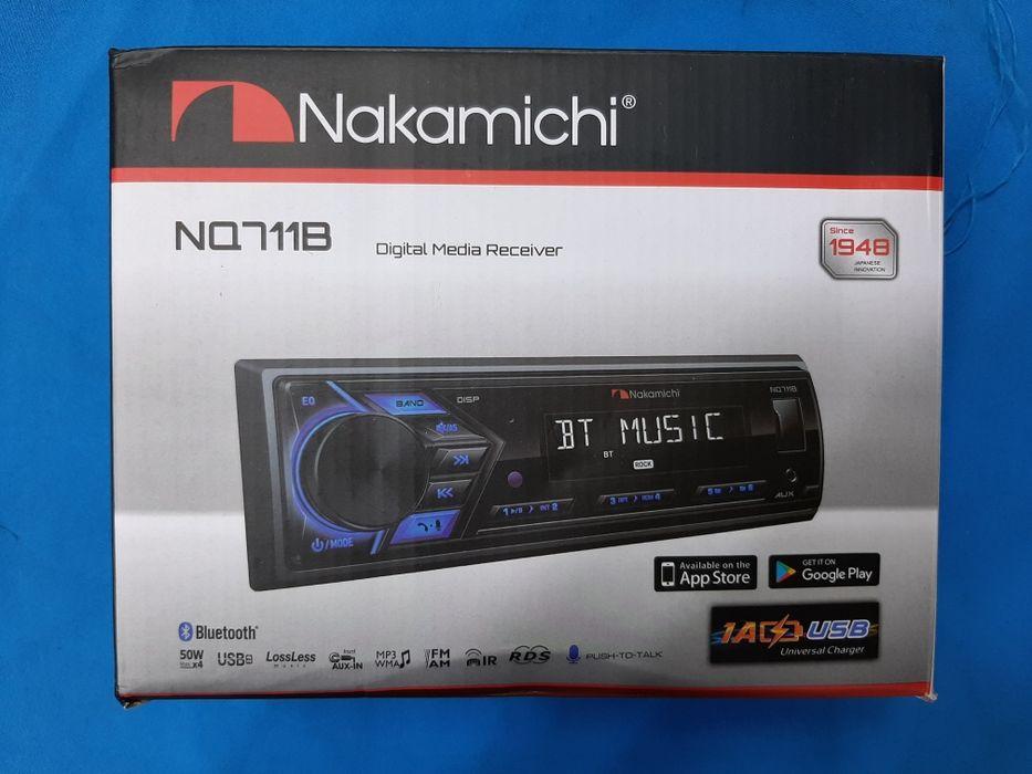 Автомагнитола Nakamichi NQ711B оригинал с Bluetooth блютуз Караганда - изображение 1
