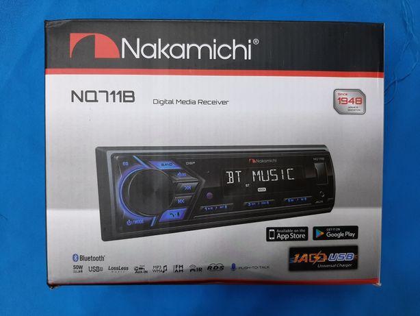 Автомагнитола Nakamichi NQ711B оригинал с Bluetooth блютуз