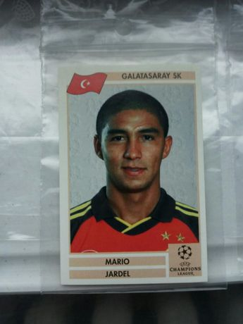 Panini Jardel Galatasaray Finale Champions League 2000 original rar
