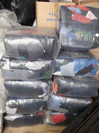Памучни и хавлиени парцали в чували-10кг.100%памук.Безплатна доставка.