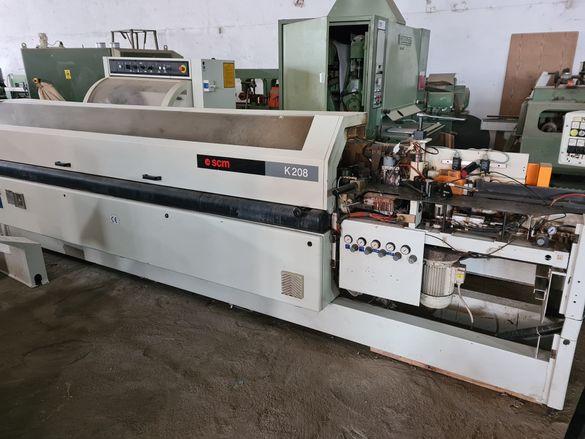 Кантираща машина с предфрезоване и корнер-SCM