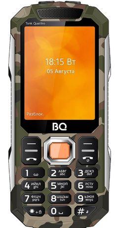 Мобильный тел TANK с 4 сим картами,новый в упаковке,камера