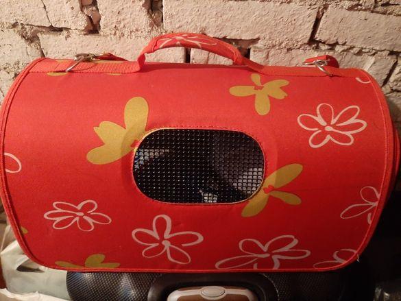Котешка чанта, като нова