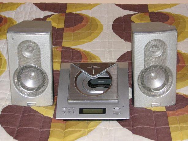 Sharp CD player, sistem audio cu boxe