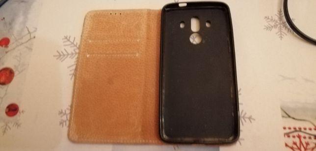 Husa Huawei Mate 10, piele, negru, nou