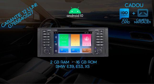 Navigatie BMW e39, e53, X5 Android 10, 2 gb Ram GARANTIE